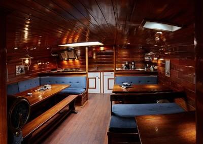 Zeilschip Orion interieur
